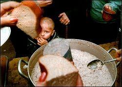 В 2020 году на планете начнется масштабный голод