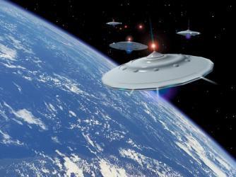 Армада огромных НЛО высадится на Земле в 2012 году
