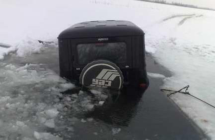 Если вы провалились под лед