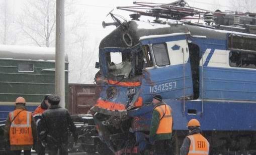 Аварии на железной дороге