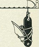 примитивная рыбалка