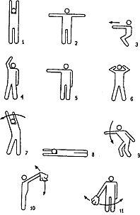 Международная авиационная аварийная жестовая сигнализация